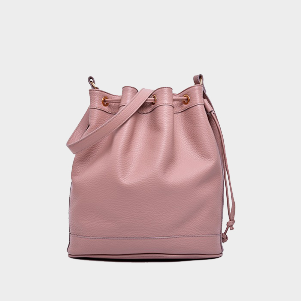 Amira Bags Bucket in Tourmaline Leather