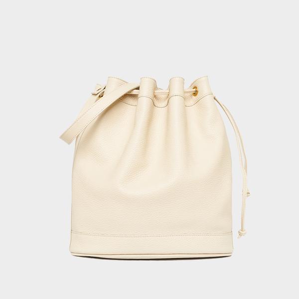 Amira Bags Bucket in Lamb Leather