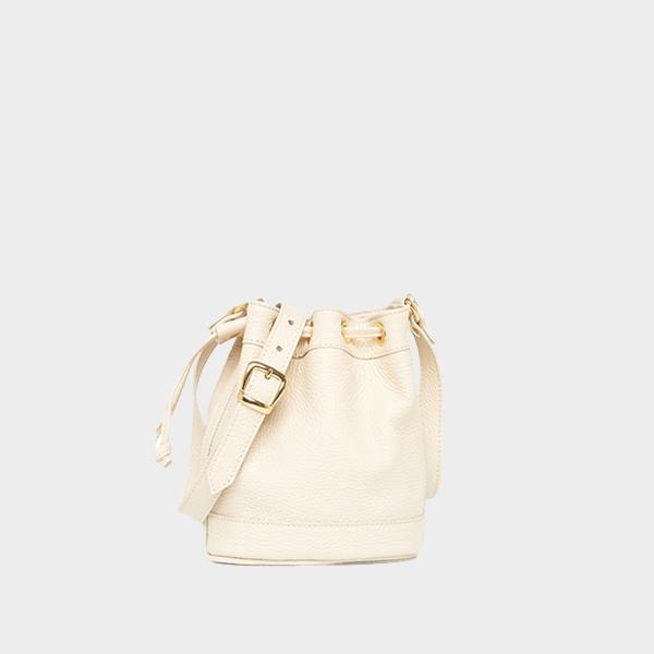Amira Bags Mini Bucket in Lamb Leather